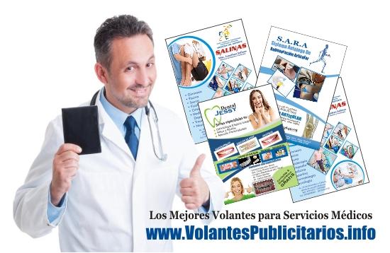 Volantes Publicitarios para Servicios Médicos