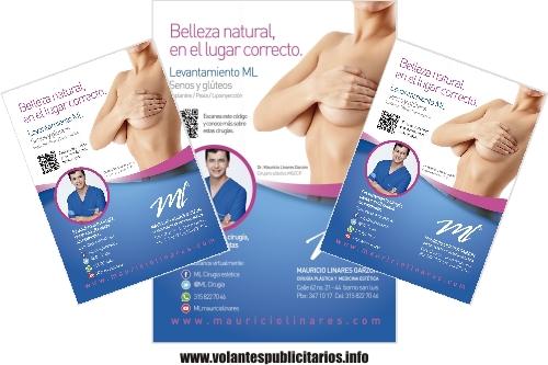 Flyer para médico cirujano