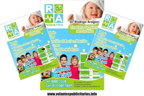 Flyer para médico pediatra