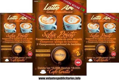 Publicidad para Cafetería