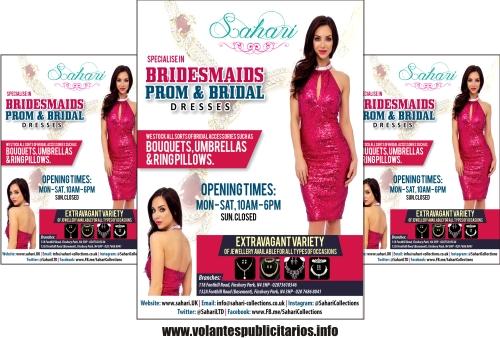 Publicidad para tienda de ropa
