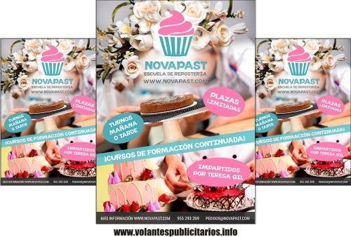 Publicidad para vender tortas